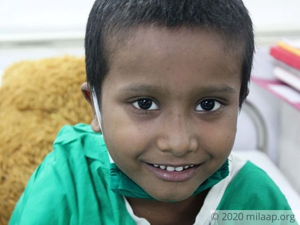 Yugal needs your help to undergo his treatment