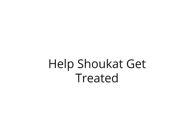 Help Shoukat Fight Mouth Cancer