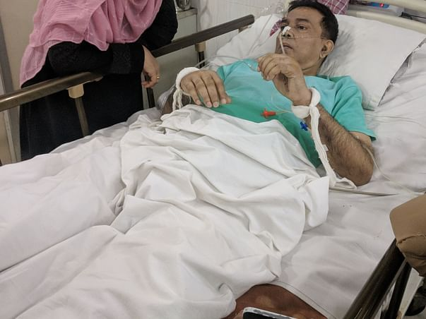 Help My Father Fight Tumor