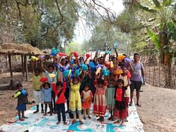 Support For The Education Of Tribal Children!