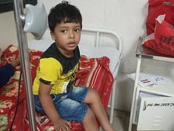Aaryan is suffered from major Thalassemia( Help)