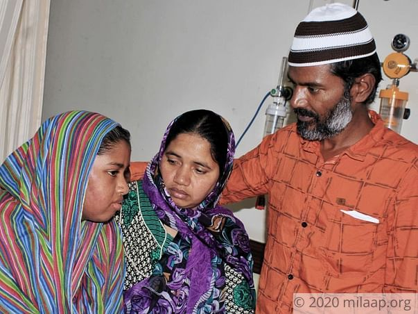 She Needs Chemotherapy To Survive, But Her Father Can't Afford It