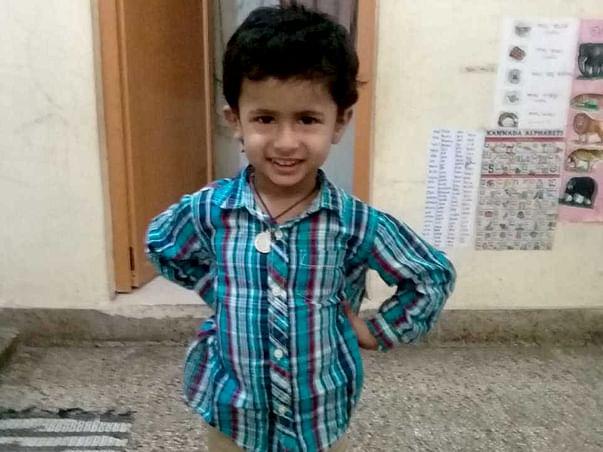 Help my child Sanvith