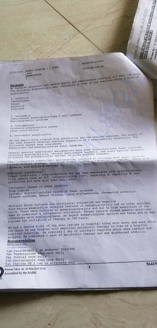doctor report part 6