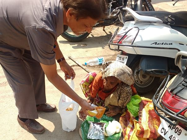 Support Dr Shankar Rao Feed Underprivileged People