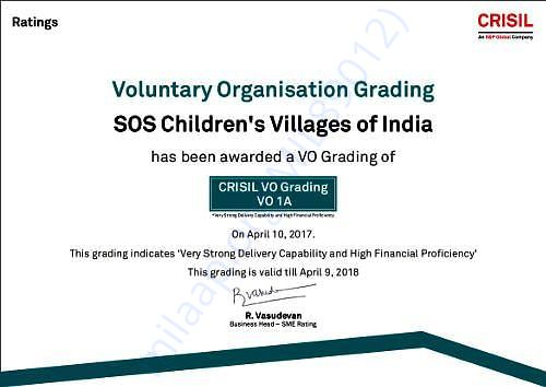 CRISIL Certificate- Rating of VO 1A