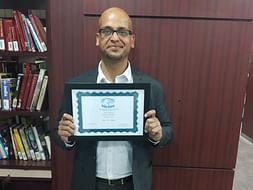 Help Gaurav become Fujitsu Scholar