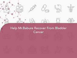 Help Mr.Babure Recover From Bladder Cancer