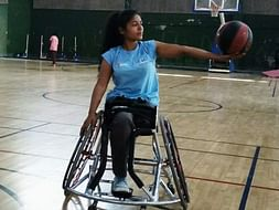 Help me represent India at WheelChair Basketball Championship