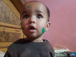 Help cute little child  financial condition is not good