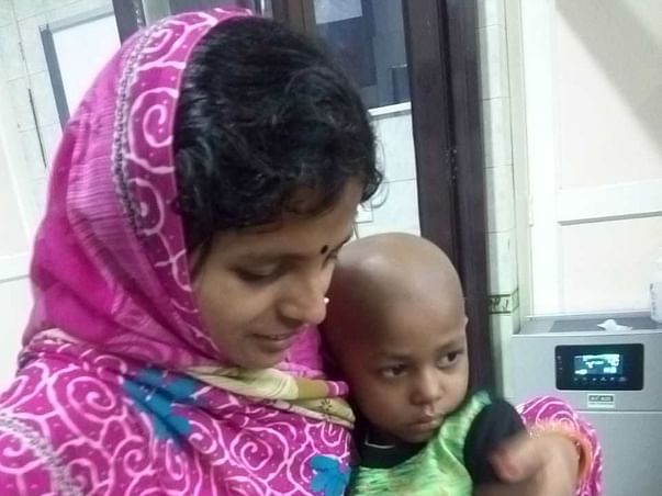 Help 4 -year-old Praveen Kumar Fight CANCER