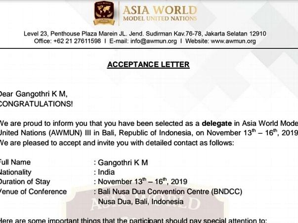 Help Me Represent Women In Asia MUN 19