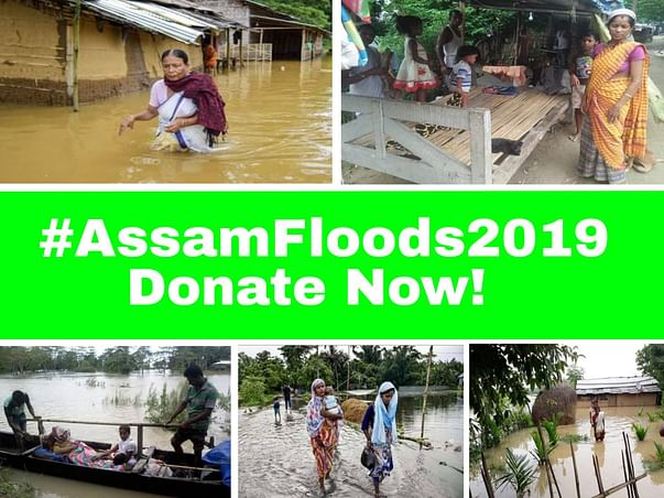 Helping Flood Victims in Assam