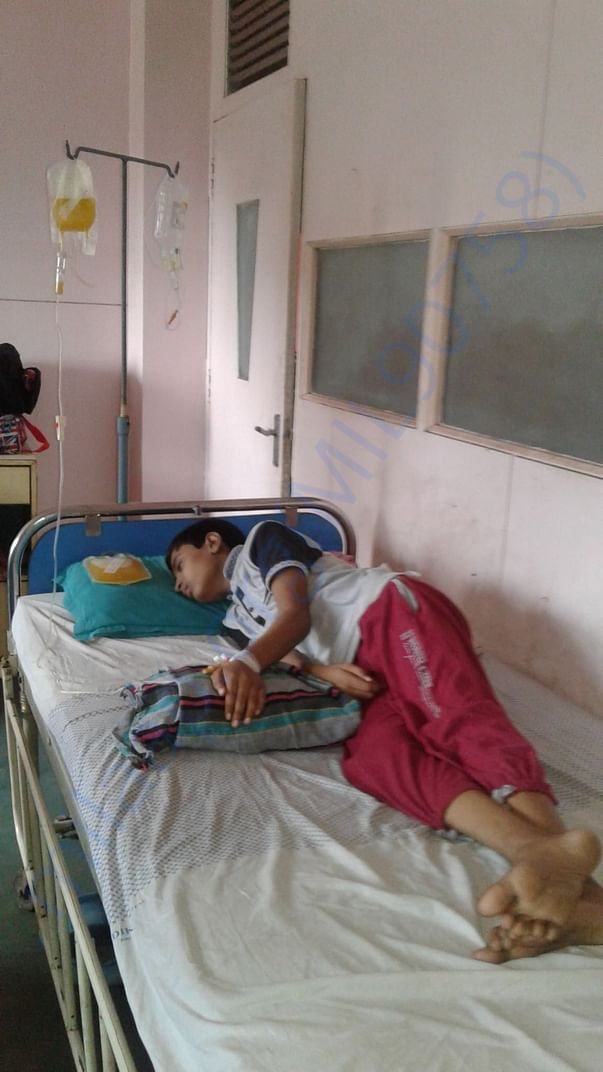 My son condition is very bad. So I request please help me