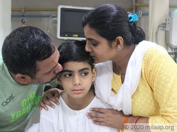 Ayush Kumar needs your help!