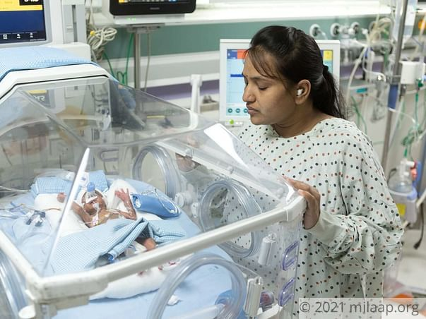 Triplets of Sravanthi are in ICU and need your help to survive