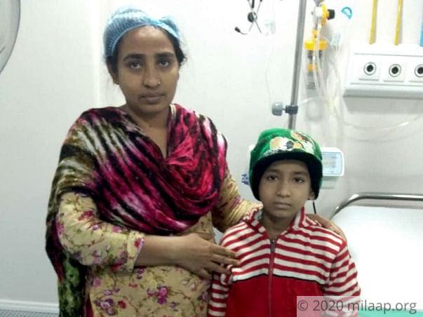 Irfan Shafiq Shaikh needs your help to undergo his treatment