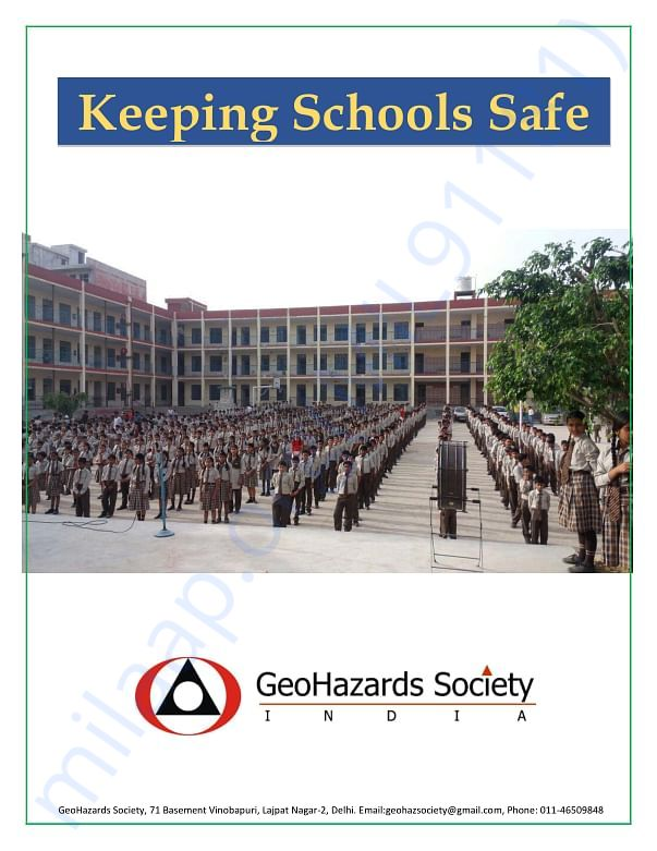 A list of GeoHazards Societies intervention in various schools
