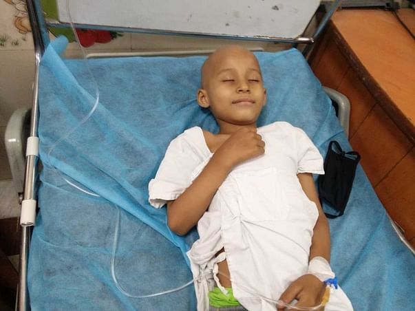 This Father Can Just See His 6-Year-Old Son Succumbing To Blood Cancer