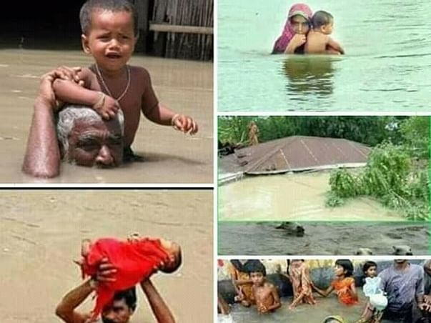 Help The Flood Victims Of Assam