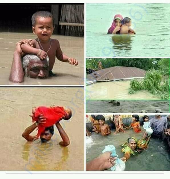 Help assam people who has suffered an flood please.