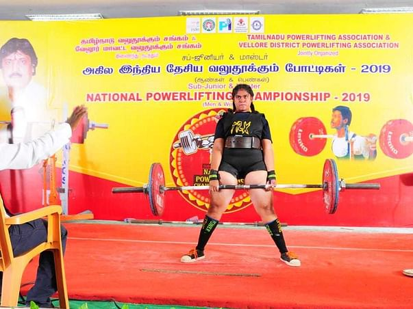 Help Powerlifter Deepthika To Make India Proud!