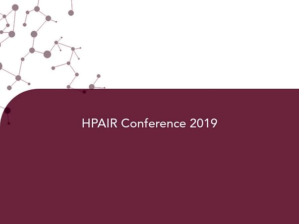 HPAIR Conference 2019