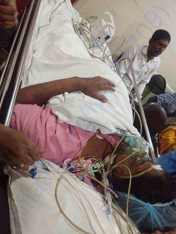 Patient current situation at hospital