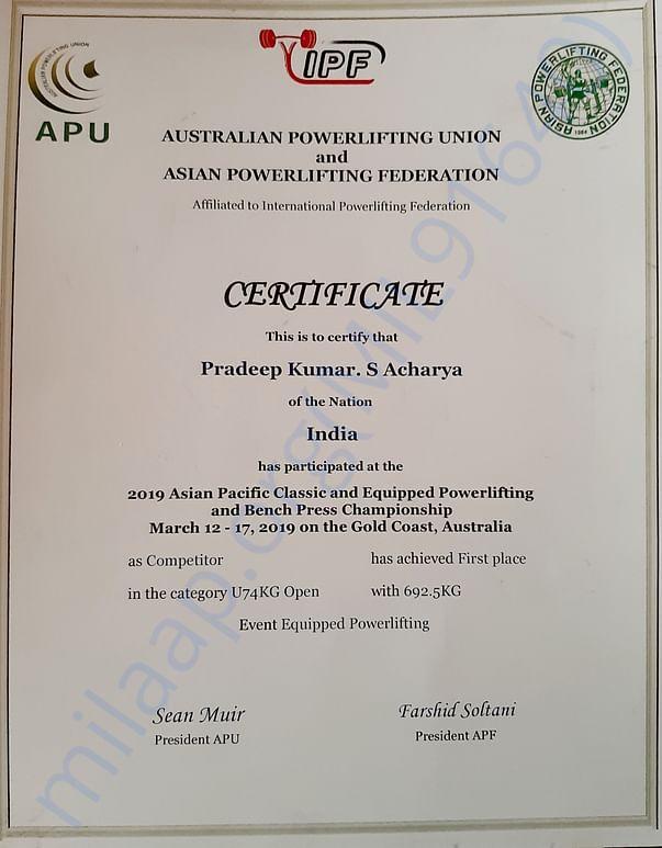 Asia Pacific Championship 2019 Australia