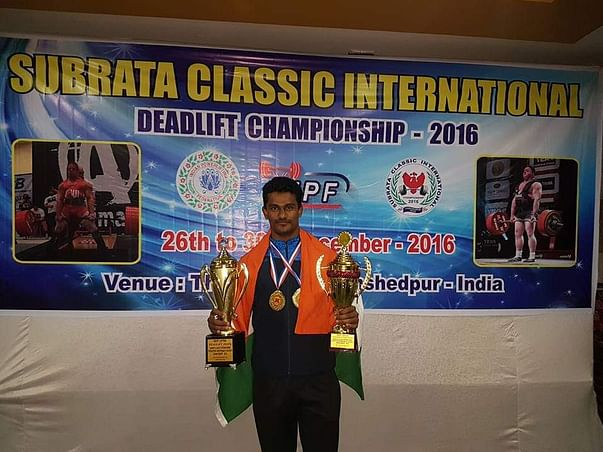 For Commonwealth Powerlifting Championship