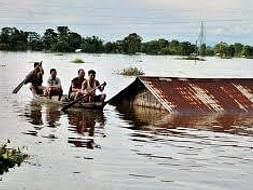 Assam flood relief funds Assam