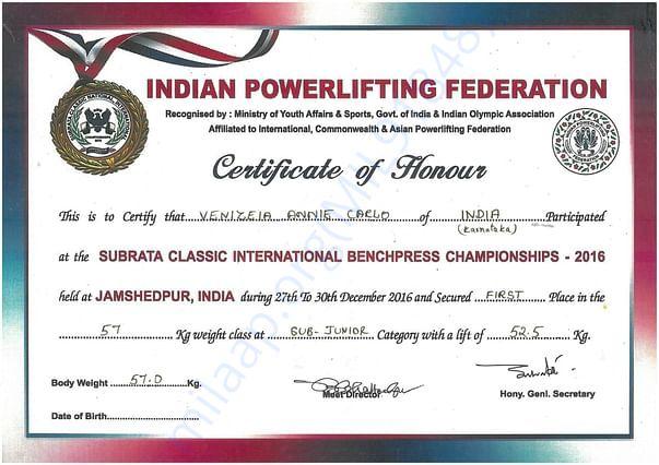 Subrata classic international championship