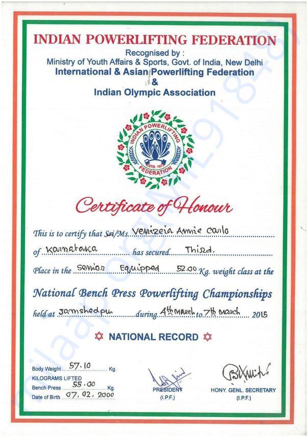 National senior powerlting championship