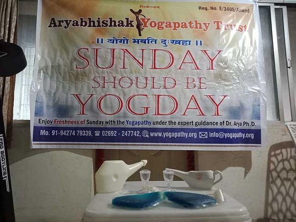 Vyadhi Mukt Manav Abhiyan through our Traditional Yogapathy