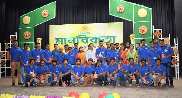 Manavikata Team, at our foundation day.