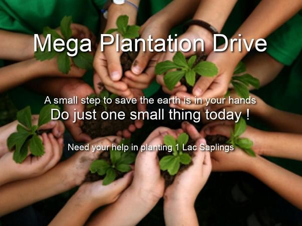Join Hands For Greener Planet.