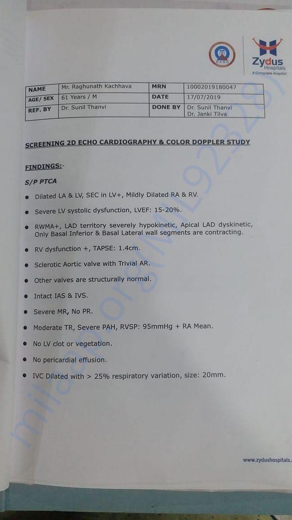 Medical Report- 2