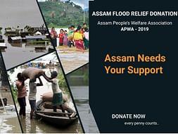 Assam Flood Relief Campaign APWA