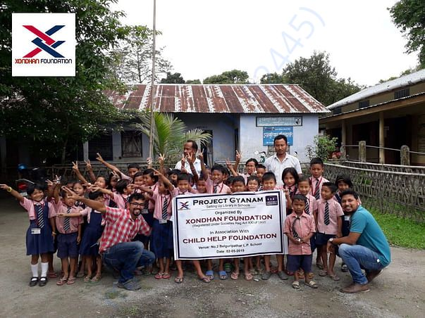Project Gyanam _ Setting Up Library in Schools
