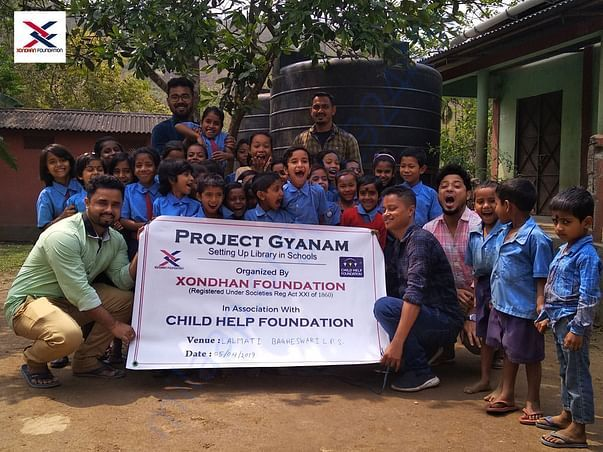 Project Gyanam - Setting Up Library in Schools