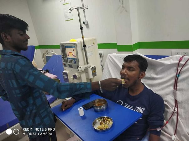 Help Myself To Undergo And Recover From Dialysis.