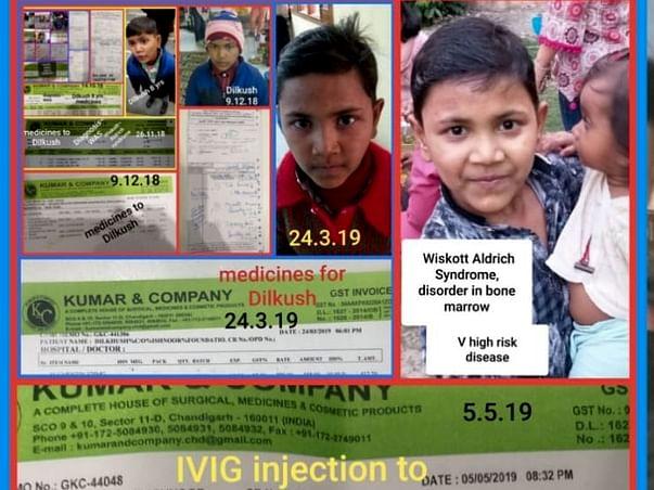 Save 9 year old Dilkhush, who needs an urgent Bone-Marrow transplant