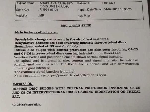 Help Anuradha Undergo Hip Surgery!