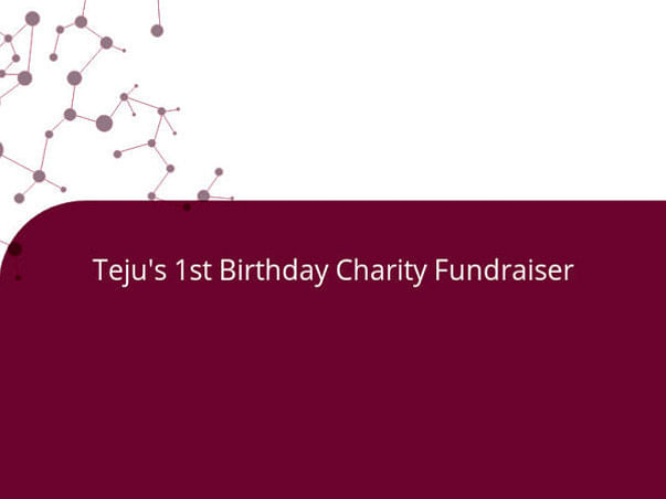 Teju's 1st Birthday Charity Fundraiser