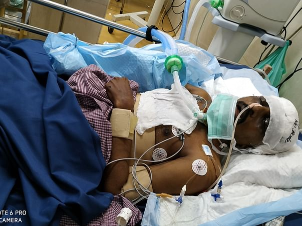 Help Ramkumar Get Treated for Severe Injuries in brain and hand.