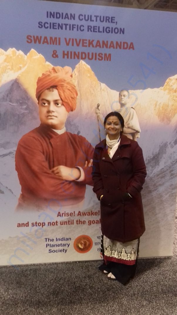 At World Parliament of Religions 2018 where Nivedita idea germinated
