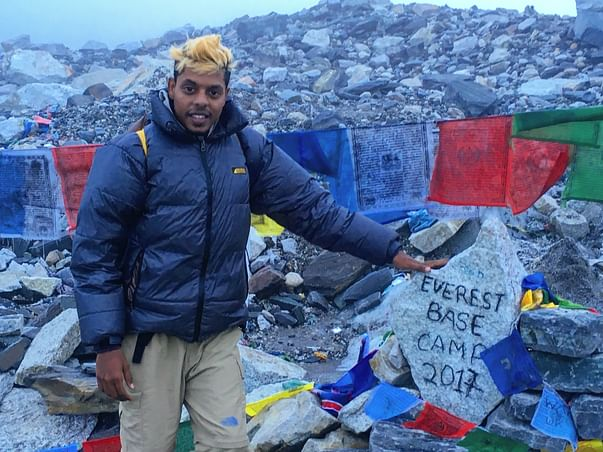 Journey of the first Chennai resident to step foot on top of World