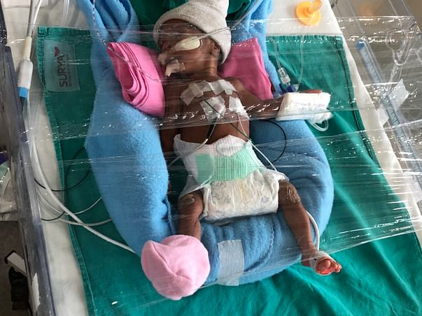 Support To Save Baby Of Nagavalli!