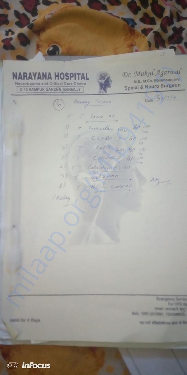 Head injoury file photo