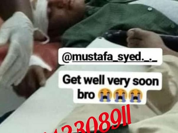 Support Mustafa To Recover!